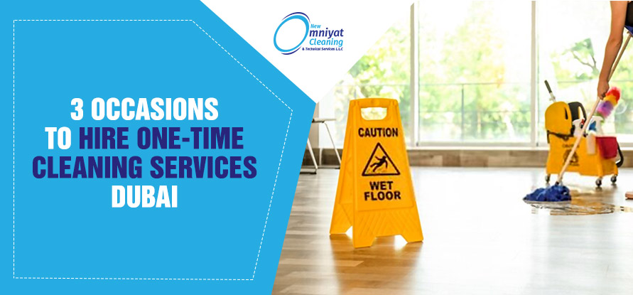 one time cleaning services in dubai