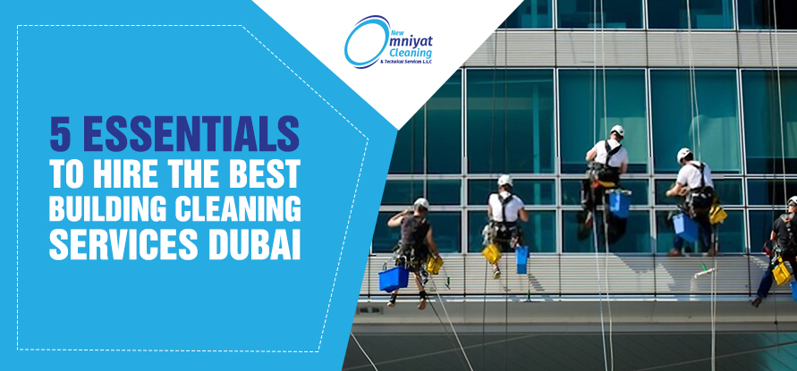 best building cleaning services dubai